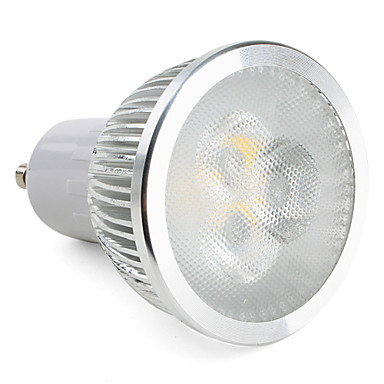 Lampadina led luce bianca calda gu10 3x2w 550 600lm 3000 for Led luce bianca